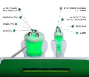 equipo de radiofrecuencia tripolar