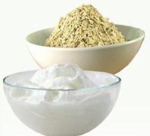 mascarilla anti picores de avena y yogur