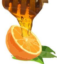 mascarilla de vitamina C con naranja y miel